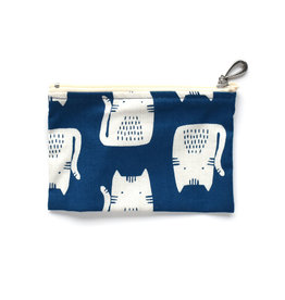 Blue Cat Coin Purse
