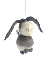 Bashful Donkey Ornament