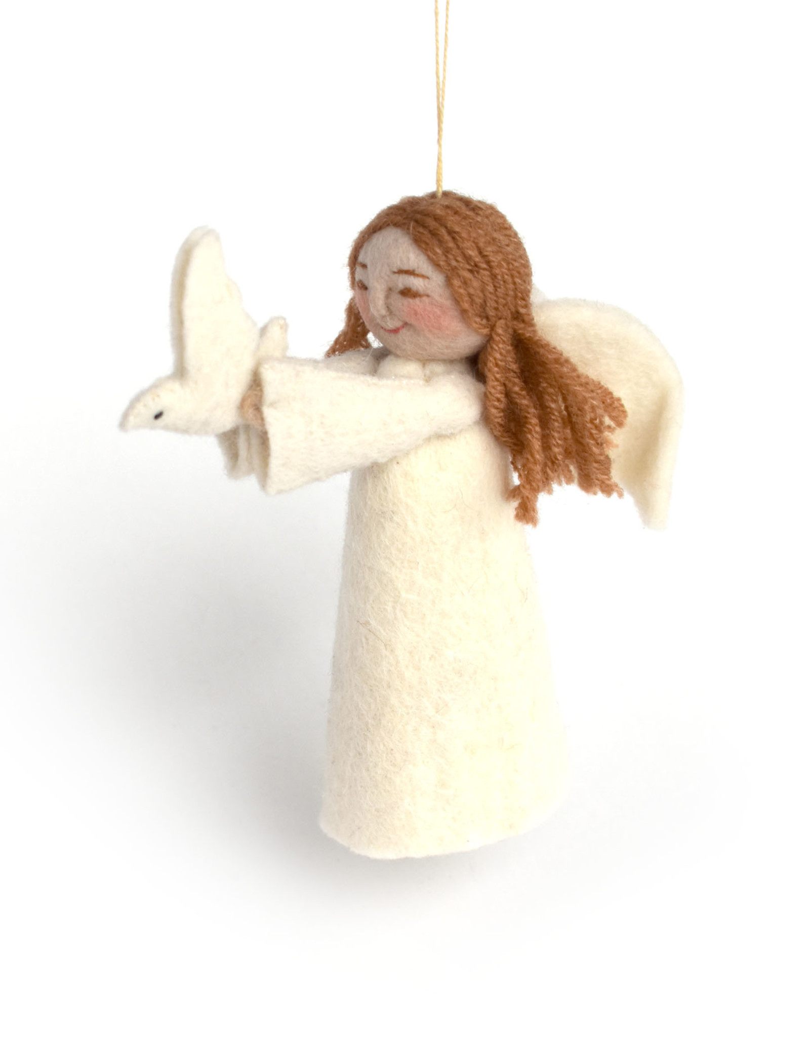 Angel Gift Ornament - Peace Dove