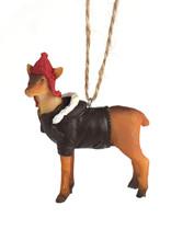 Deer Resin Animal Ornament
