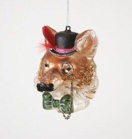 Fox Gentleman Ornament