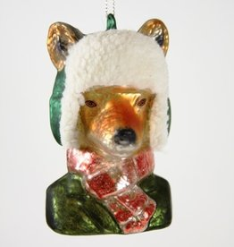 Winter Ready Fox Ornament