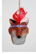 Fox Chief Ornament