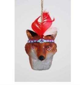 Fox Chief Ornament