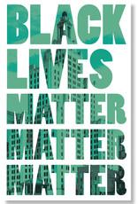 Black Lives Matter Protest Poster (2 colors!)