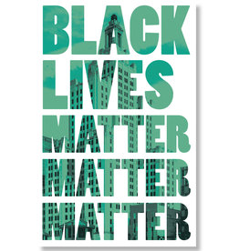 Black Lives Matter Protest Poster (2 colors!)