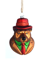 Well-Dressed Bear Ornament