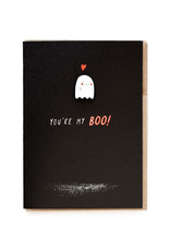 You're My Boo Enamel Pin Greeting Card
