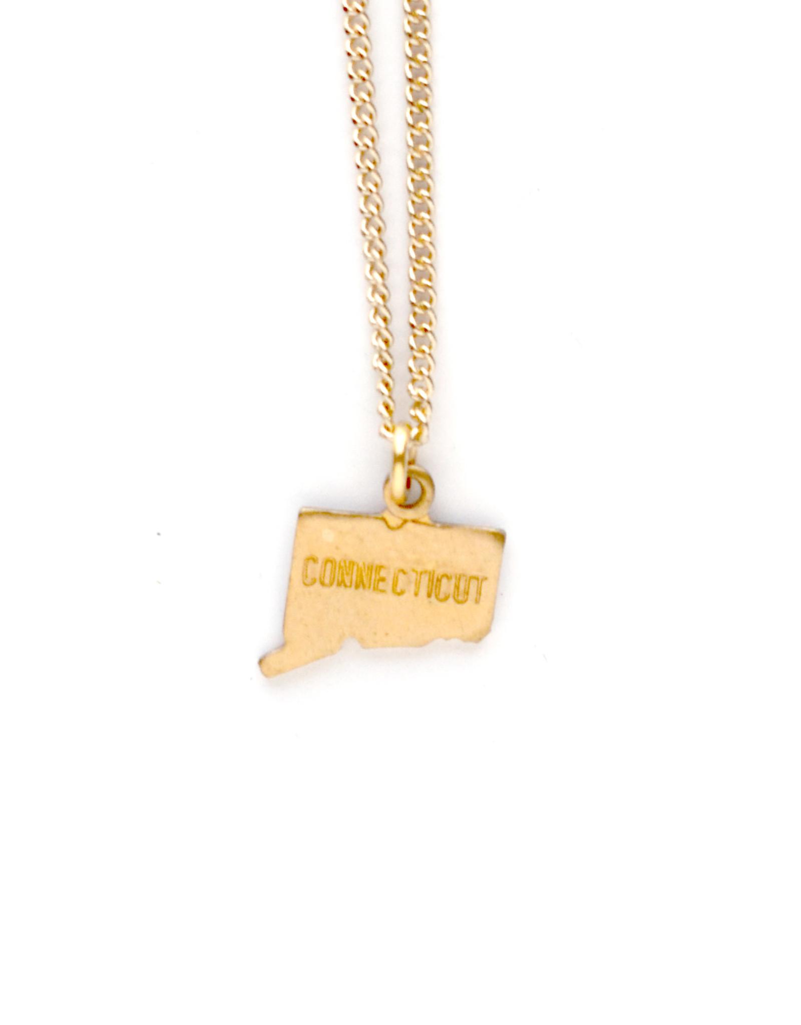Connecticut Charm Necklace