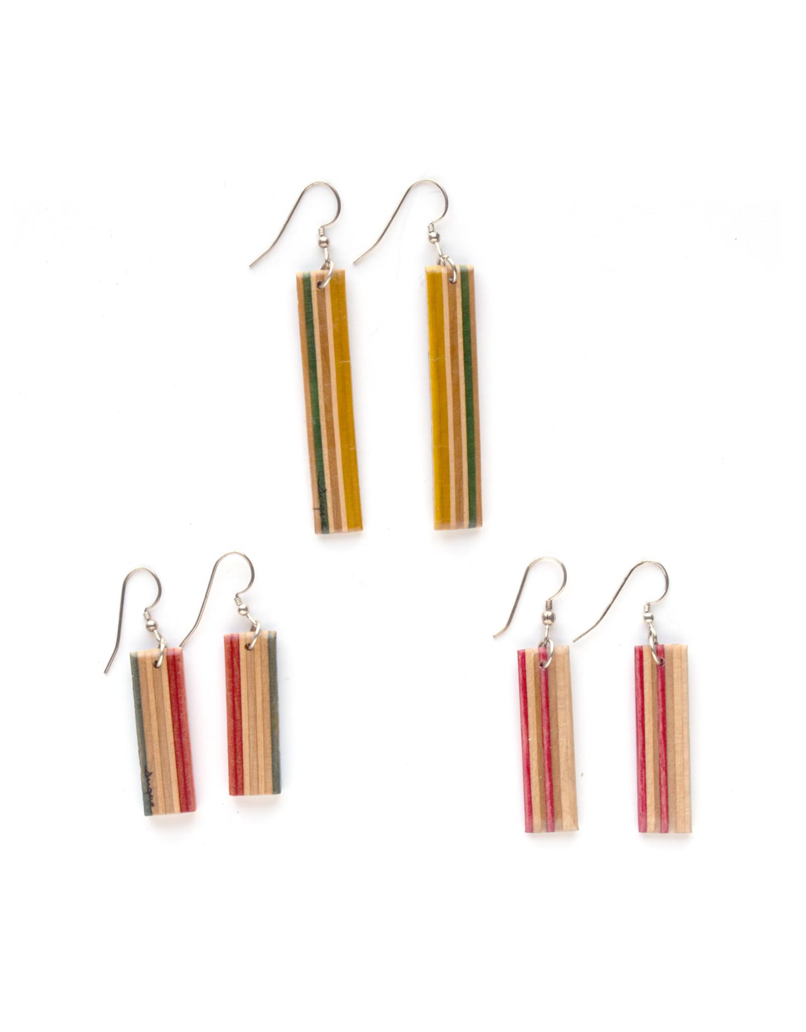 Skatedeck Earrings (Assorted)