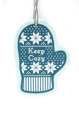 Keep Cozy Mitten Ornaments (Assorted)