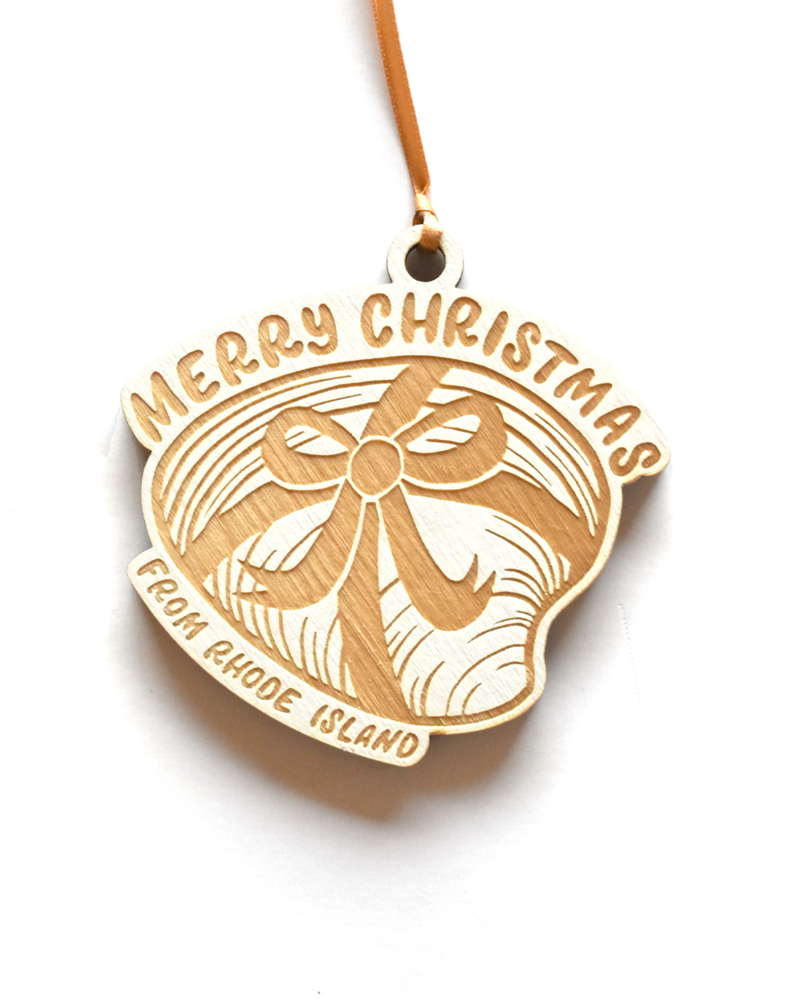 Merry Christmas Quahog Ornament