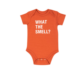 What The Smell Onesie (3-6 Months)