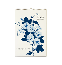 2021 Wall Calendar - Snow & Graham