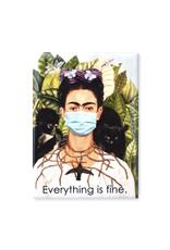 Mask It Magnet - Frida Kahlo & Monkey