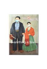 Mask It Magnet - Frida Kahlo & Diego Rivera