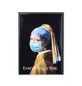 Mask It Magnet - Girl with the Pearl Earring