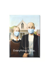 Mask It Magnet - American Gothic