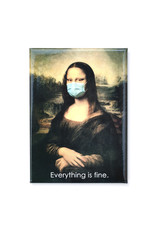 Mask It Magnet - Mona Lisa