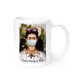 Mask It Mug - Frida Kahlo