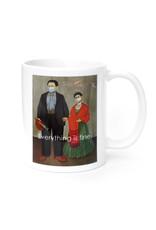 Mask It Mug - Frida Kahlo & Diego Rivera