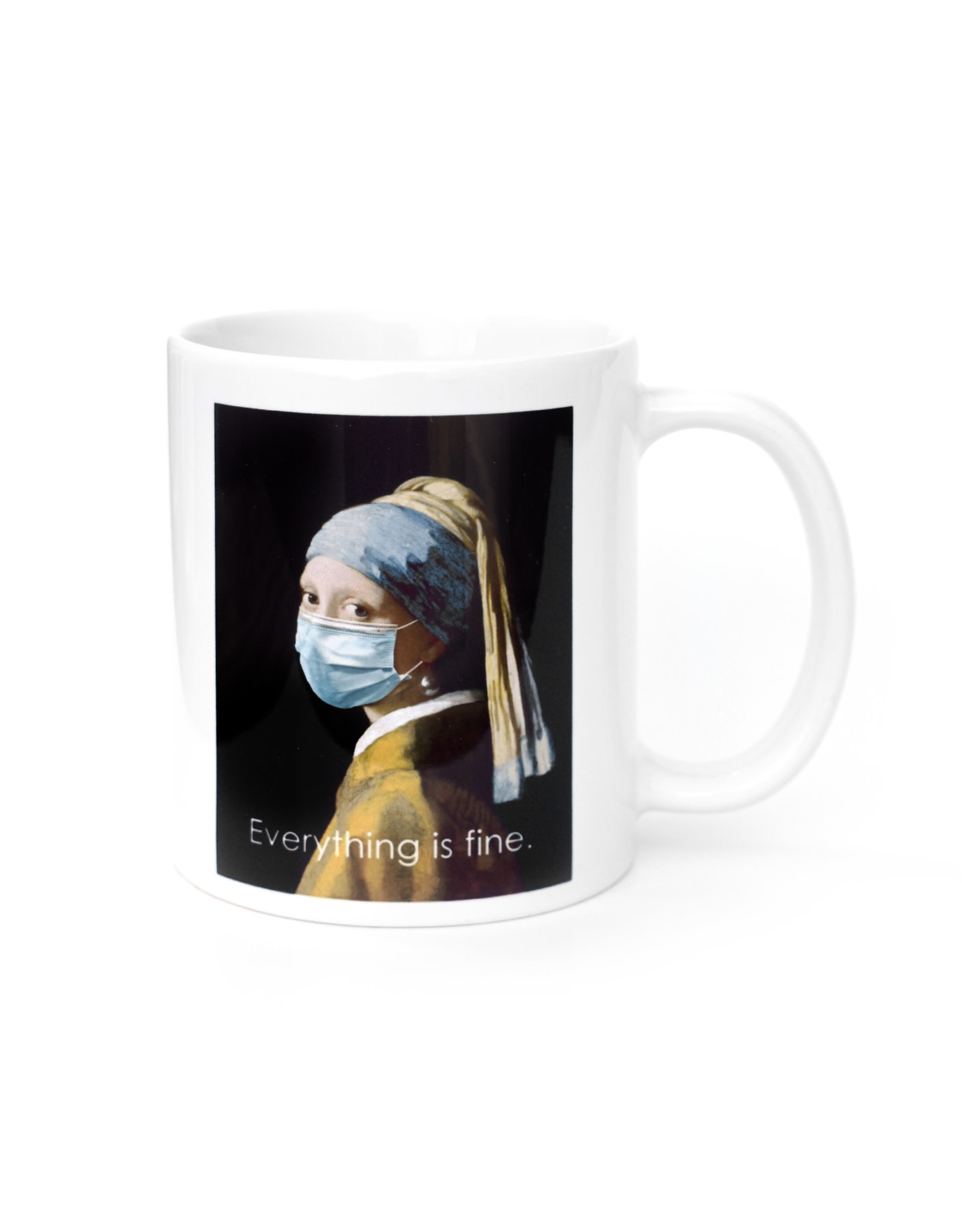 Mask It Mug - Girl with the Pearl Earring
