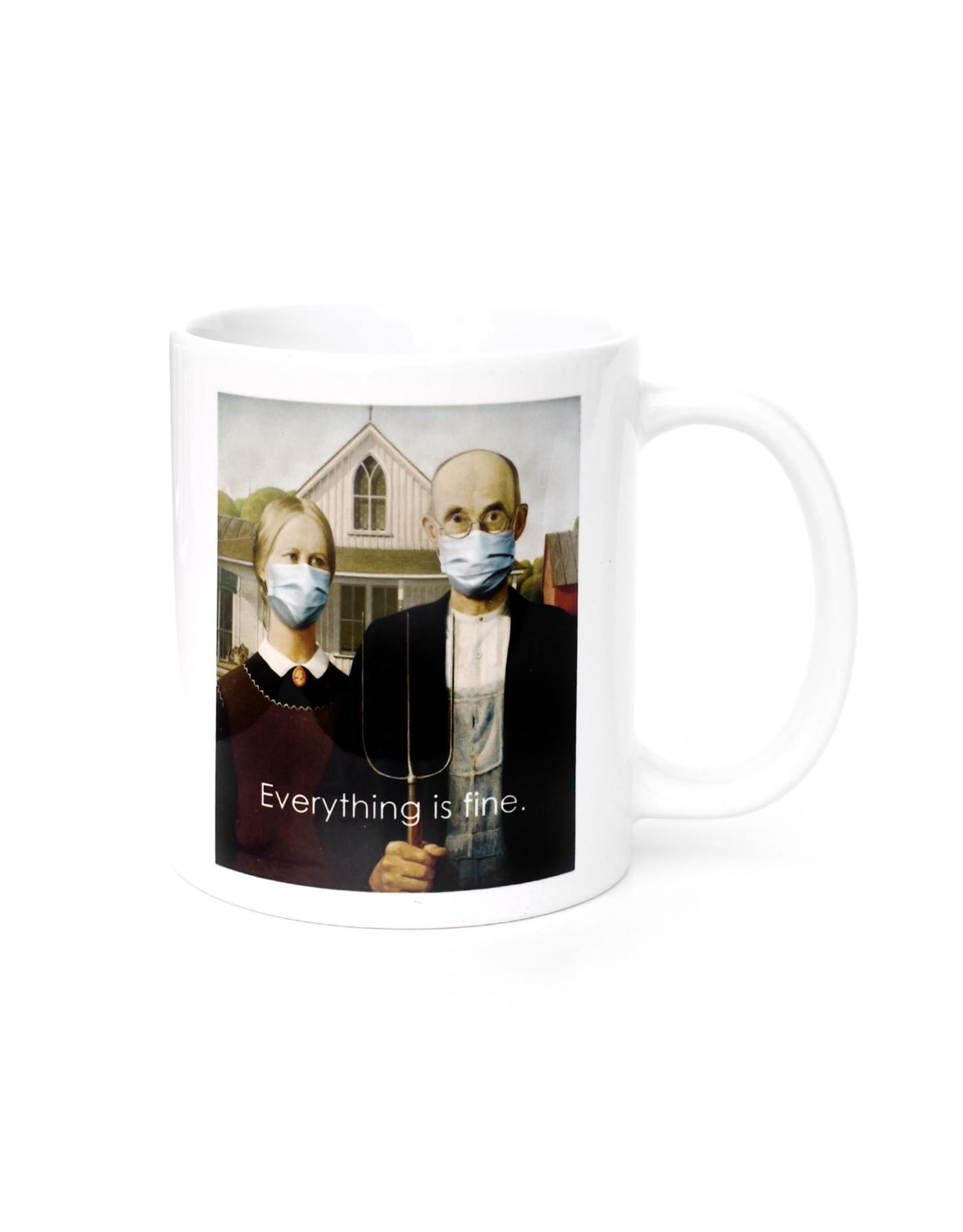 Mask It Mug - American Gothic