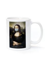 Mask It Mug - Mona Lisa