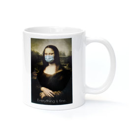 Mask It Mug - Mona Lisa