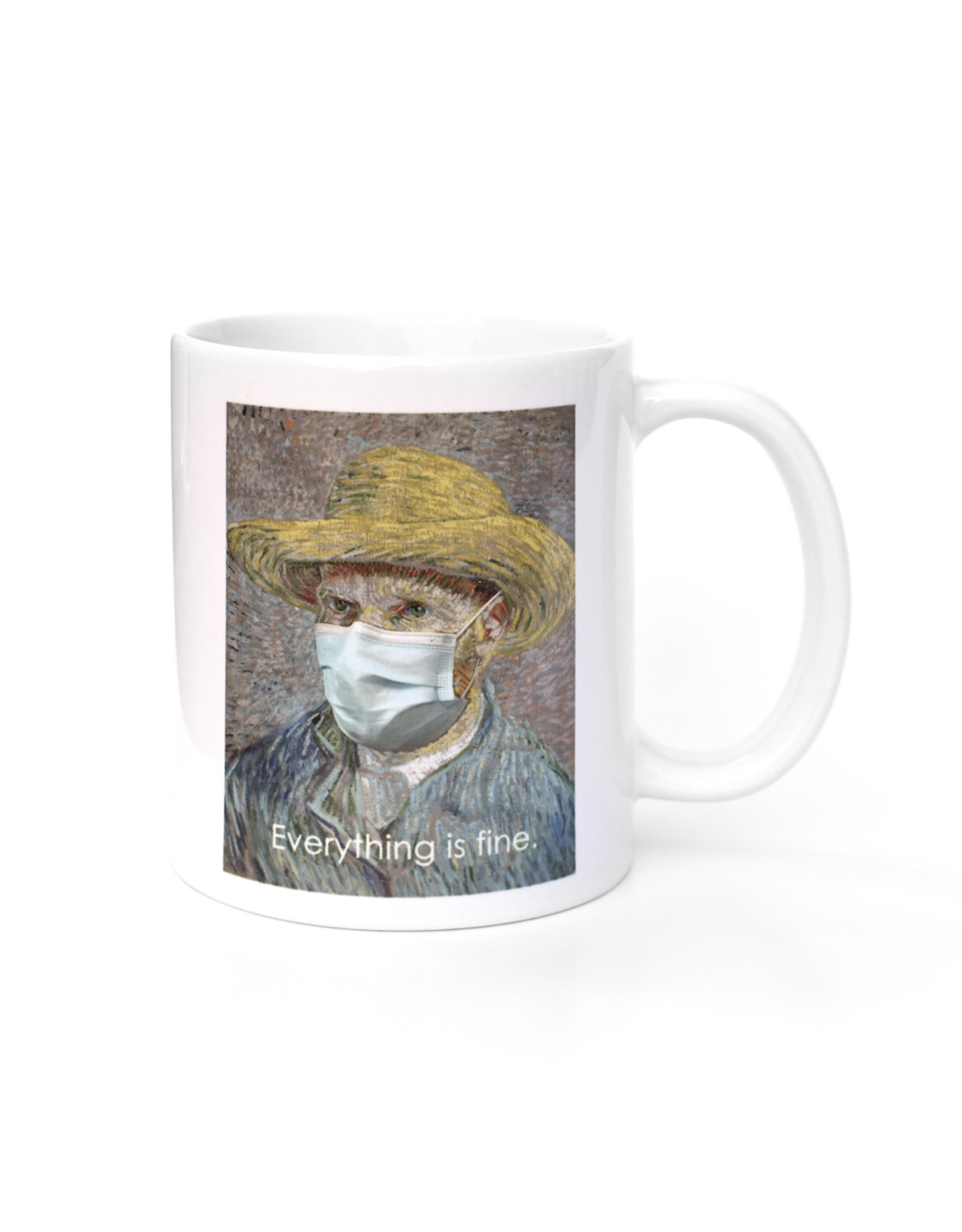 Mask It Mug - Vincent van Gogh