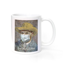 Mask It Mug - Vincent van Gogh