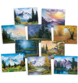 Bob Ross Notecards