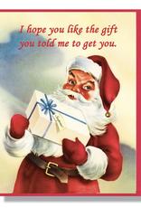 Hope You Like The Gift Holiday Card
