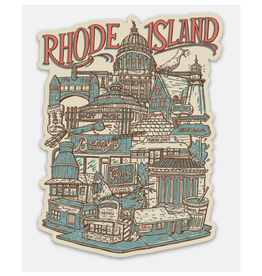 Rhode Island Neighborhoods Sticker