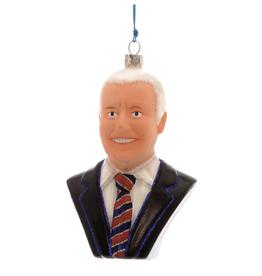 Joe Biden Glass Ornament