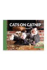 Cats on Catnip Postcard Set