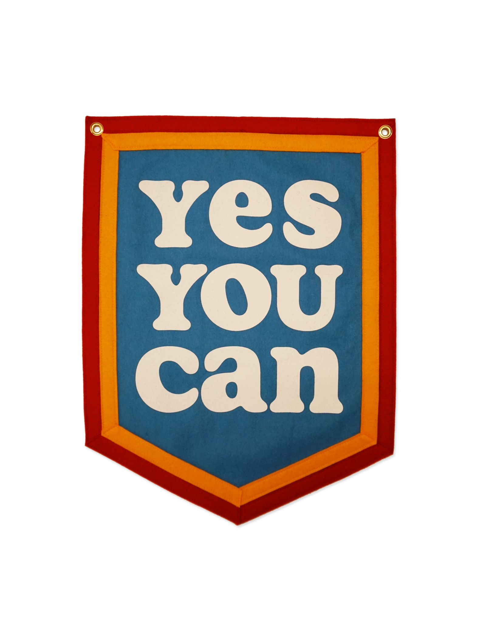 Yes You Can Camp Flag