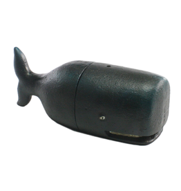 Sperm Whale Bookends (CURBSIDE PICKUP ONLY)