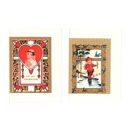 Vintage Valentine Pack - Set of 12