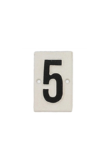 Cast Iron Sign - #5