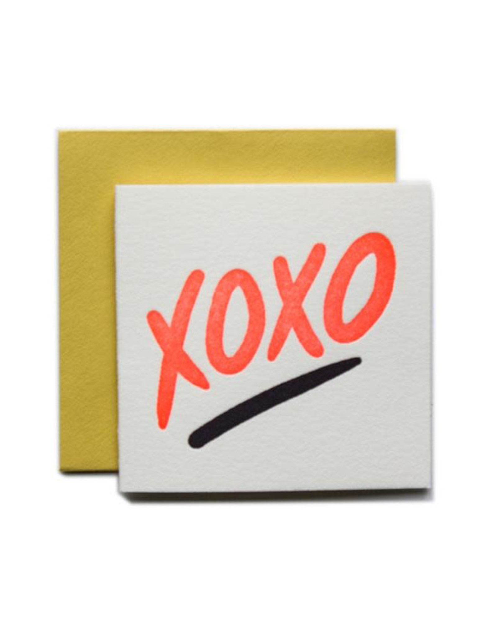 XOXO Tiny Card