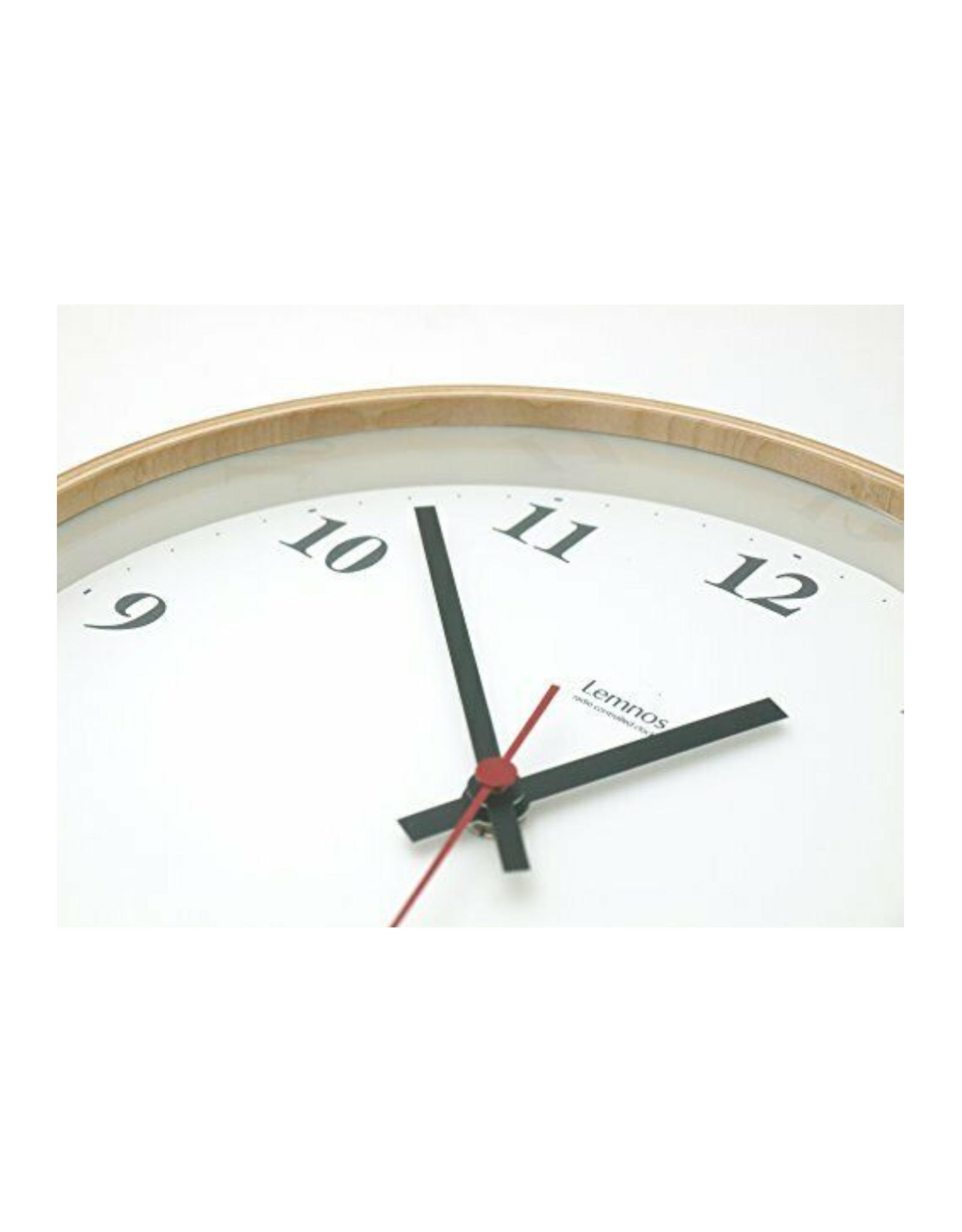 Natural Plywood Clock