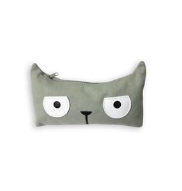 Grey Kitty Pencil Case