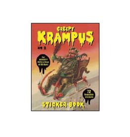 Creepy Krampus Sticker Book #2
