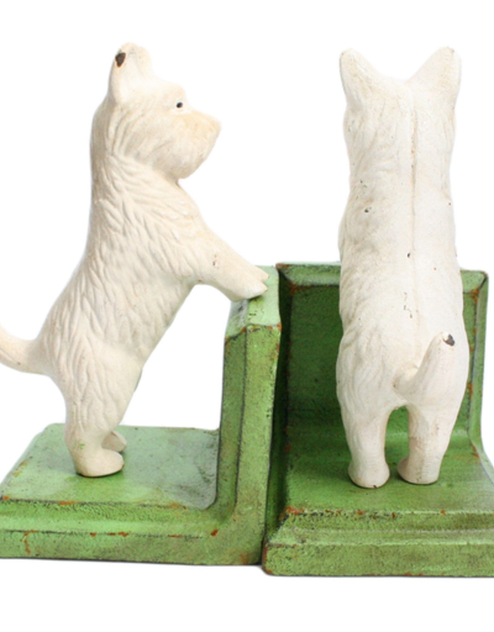 Standing Westie Bookend Set