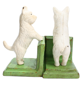 Standing Westie Bookend Set (CURBSIDE PICKUP ONLY)