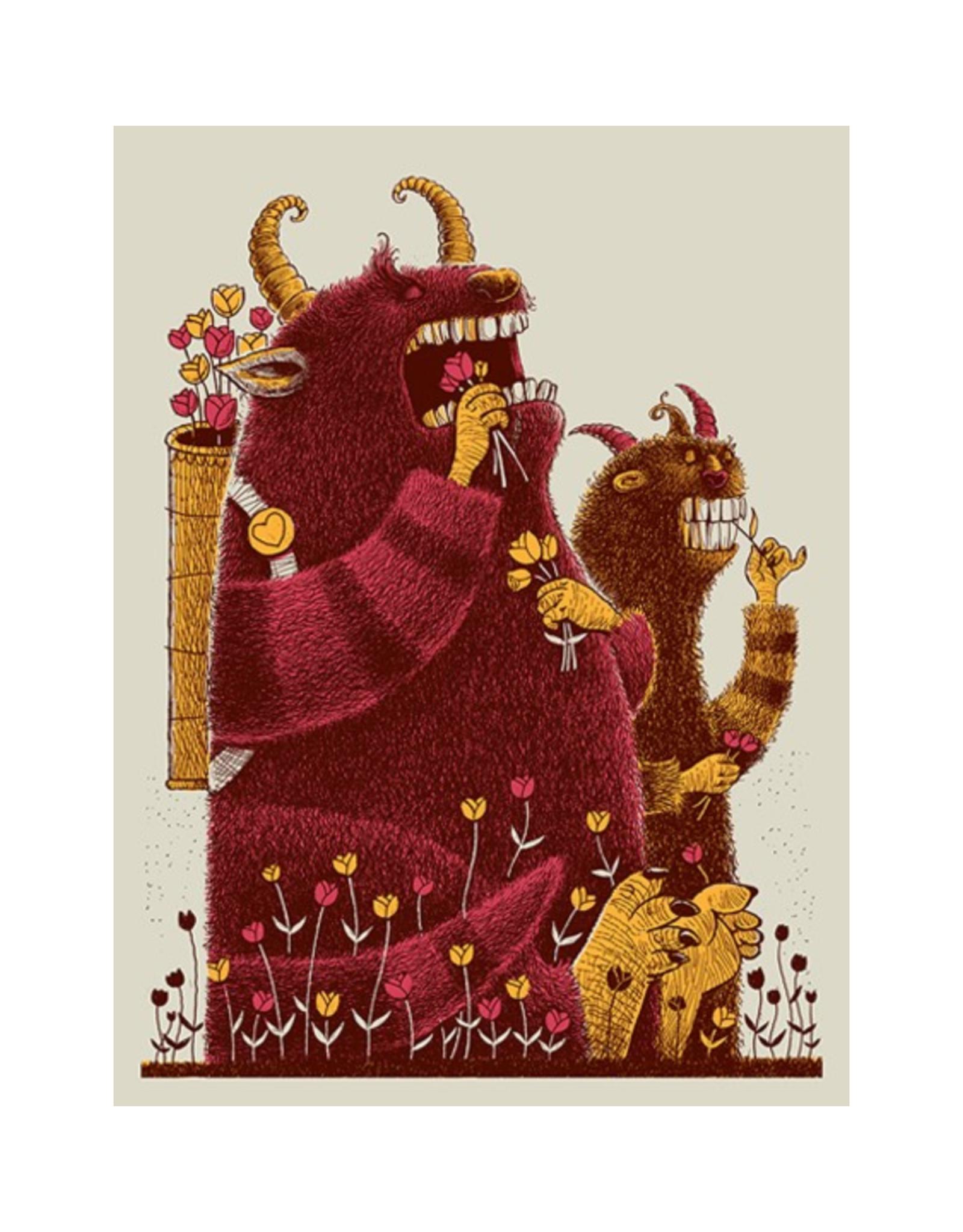 Flower Eaters Print