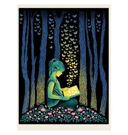 Butterfly Girl Print