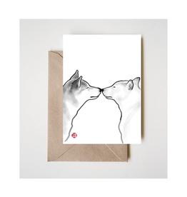 Love Shiba Greeting Card