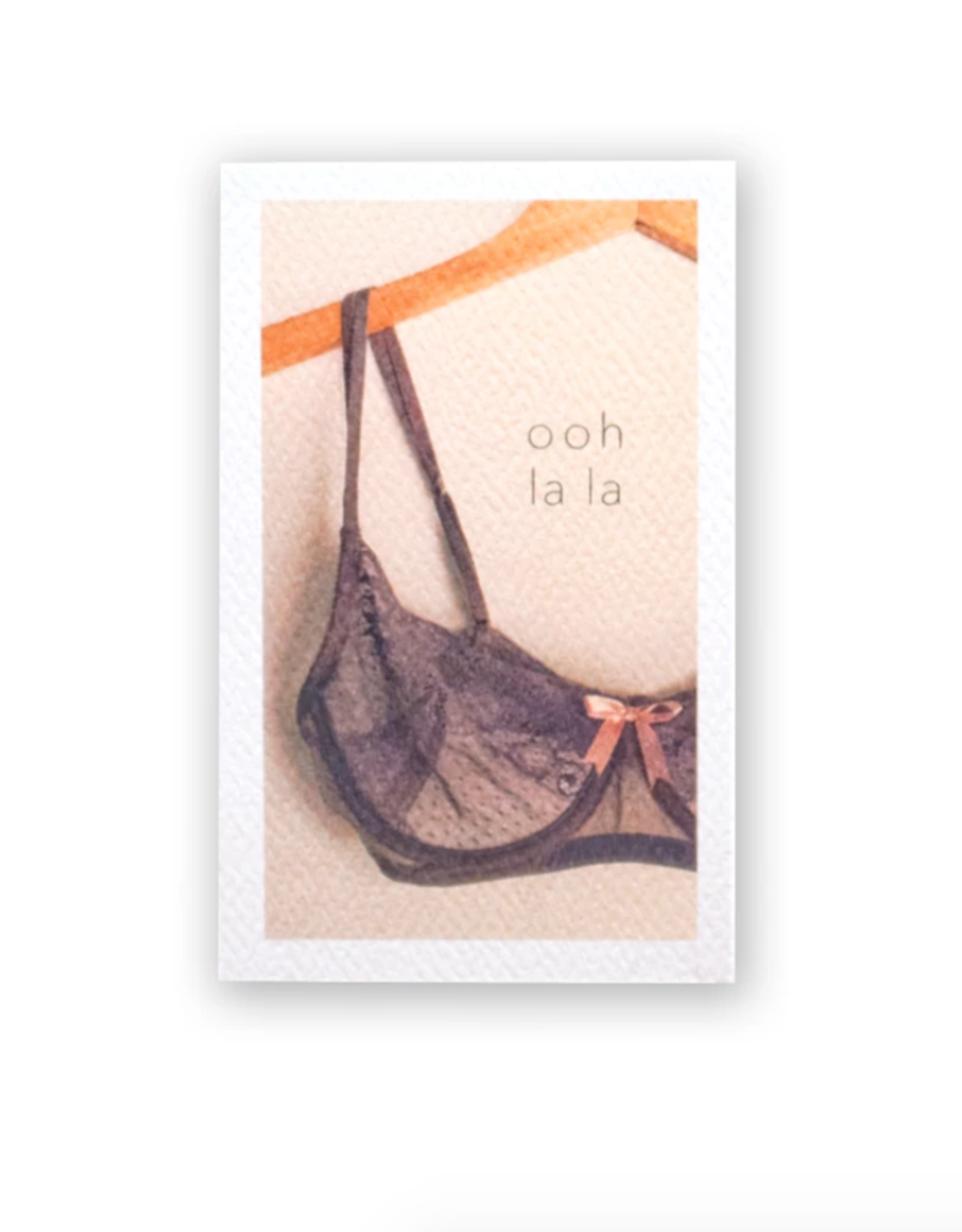 Ooh La La Mini Card